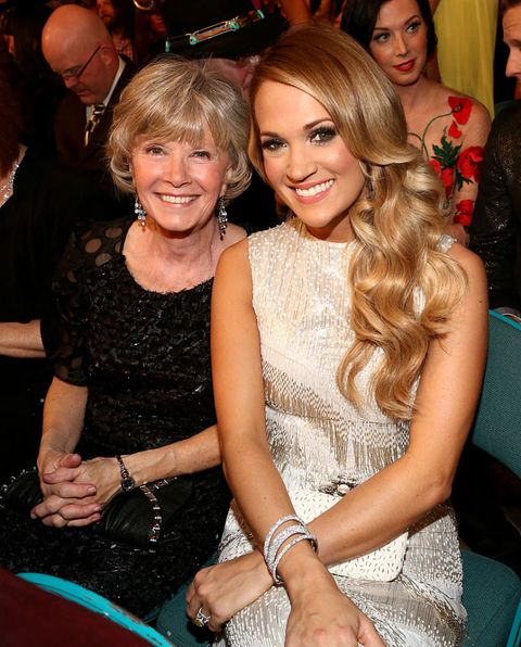 country stars and their moms