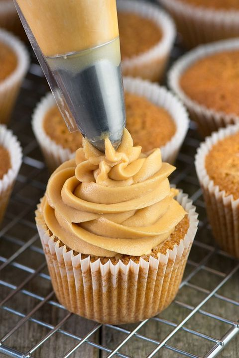 Food, Cupcake, Sweetness, Dessert, Baked goods, Ingredient, Cuisine, Baking cup, Snack, Recipe,