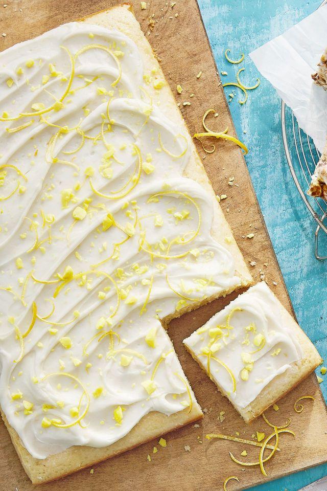 duke's lemon drop sheet cake