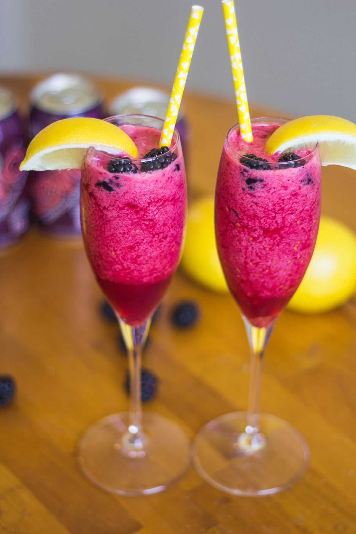 A few words on how to prepare a frozen cocktail