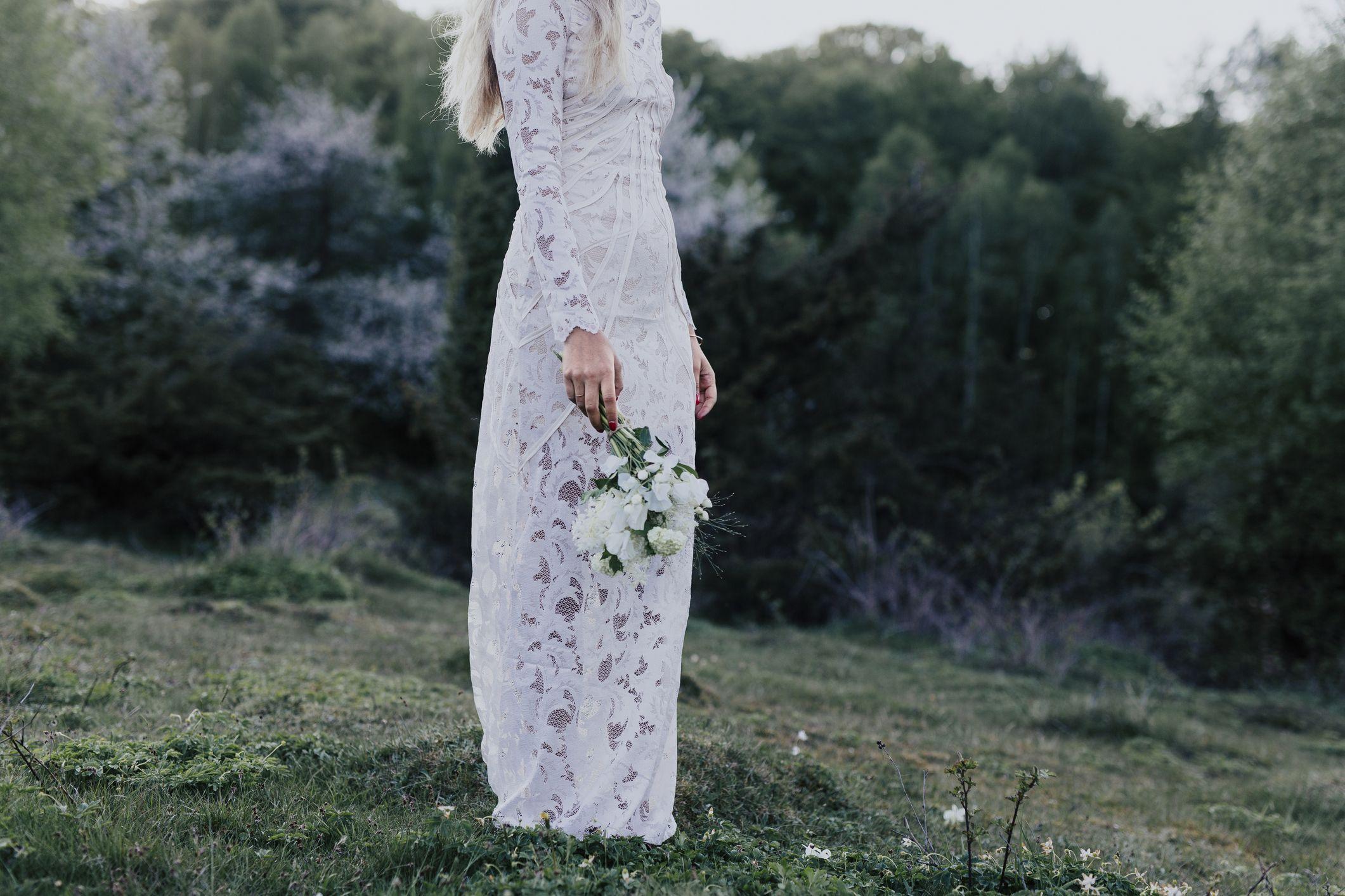f18e634de3cad 9 Modest Wedding Dresses - Forget the Naked Dress: Modest Wedding Gowns Are  the New Trend