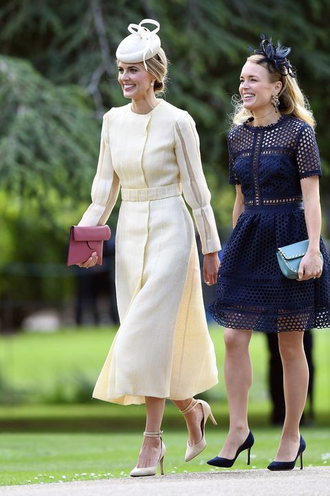 Guests at Pippa Middleton's wedding