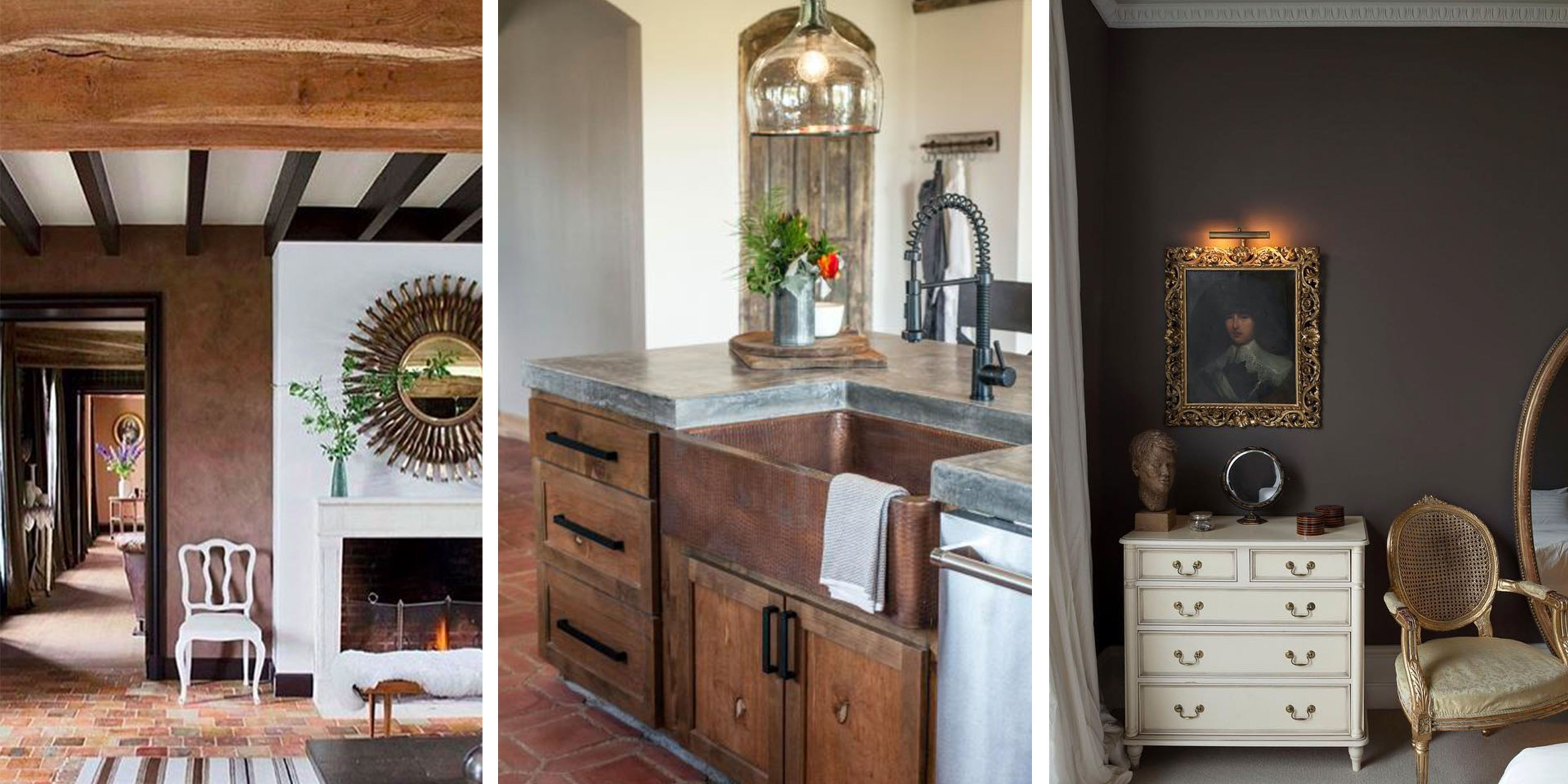 Suffering From All White Farmhouse Fatigue? Then Youu0027ll Love The Latest  Trend: In Interior Design, Warm, Earthy Tones Are Edging Out White And Gray.