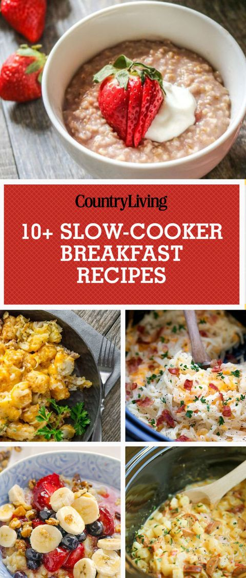 11 Slow Cooker Breakfast Recipes Crock Pot Breakfast Recipes