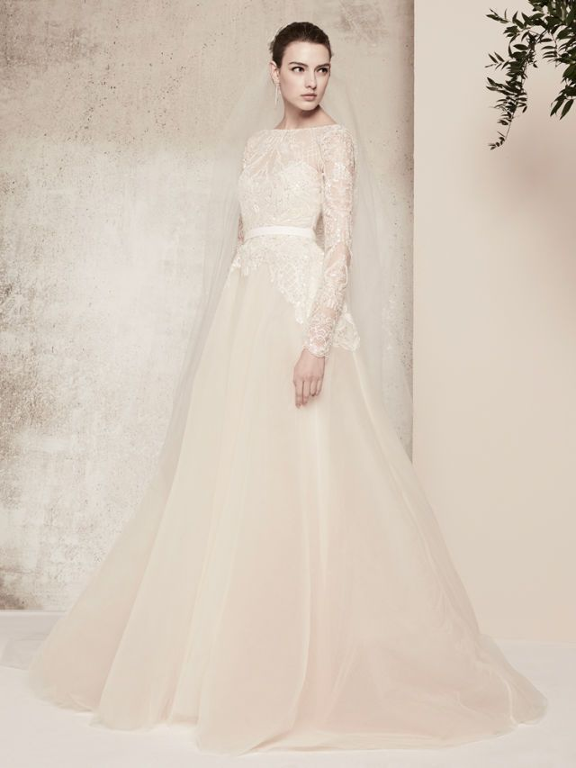9 modest wedding dresses forget the naked dress modest wedding conservative wedding dress modest bridal trend covered up junglespirit Image collections
