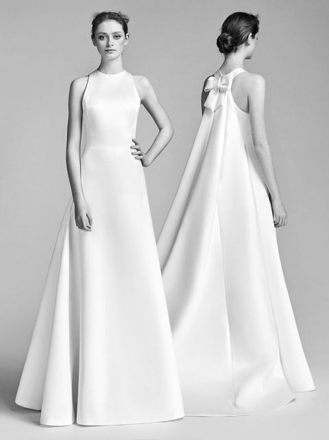 conservative wedding dress, modest, bridal trend, covered up