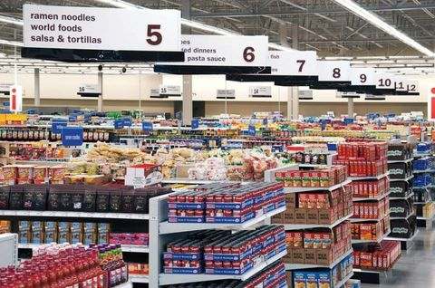 Meijer grocery aisles