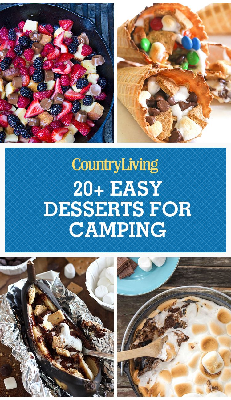 21 Easy Campfire Desserts