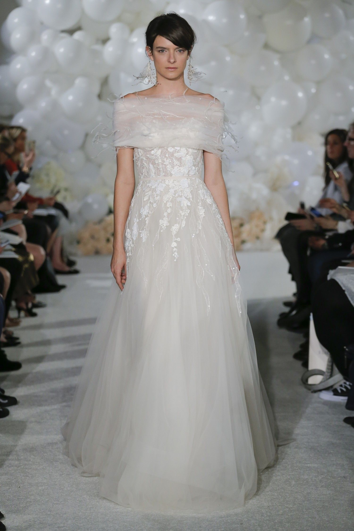 conservative wedding dress, modest, bridal trend, covered up