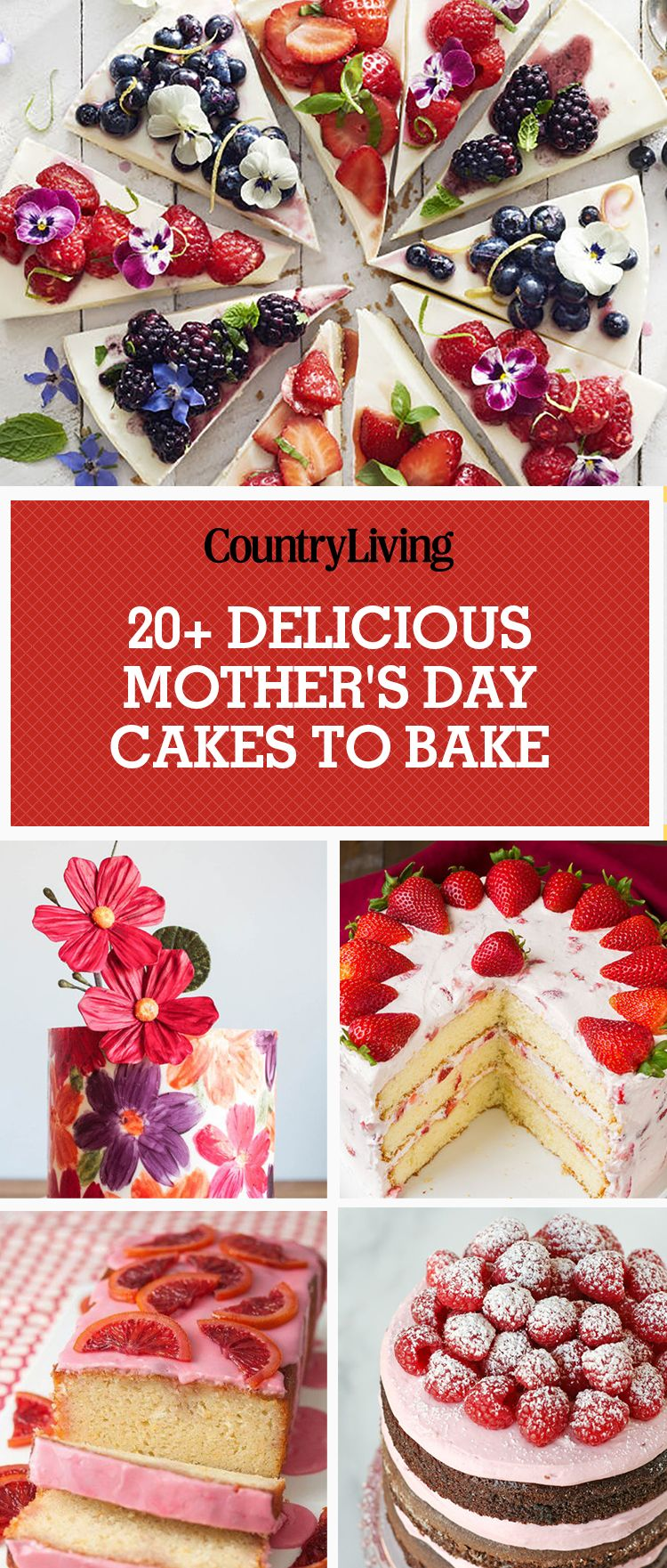 30 Best Mothers Day Cakes Recipe Ideas For Cakes Mom Will Love