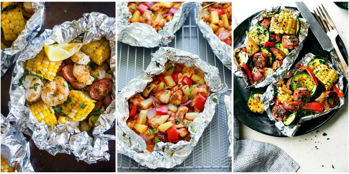12 Foil Packet Recipes for Easy Summer Dinners