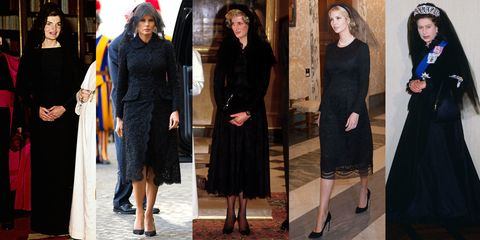 Dress, Formal wear, Fashion, Little black dress, One-piece garment, Black, Black hair, Street fashion, Waist, Bag,