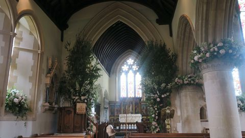 Get an inside look at pippa middletons wedding flowers see the image junglespirit Image collections