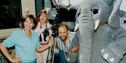 Sharon, Lois & Bram photographed by the Toronto Star, 1988.