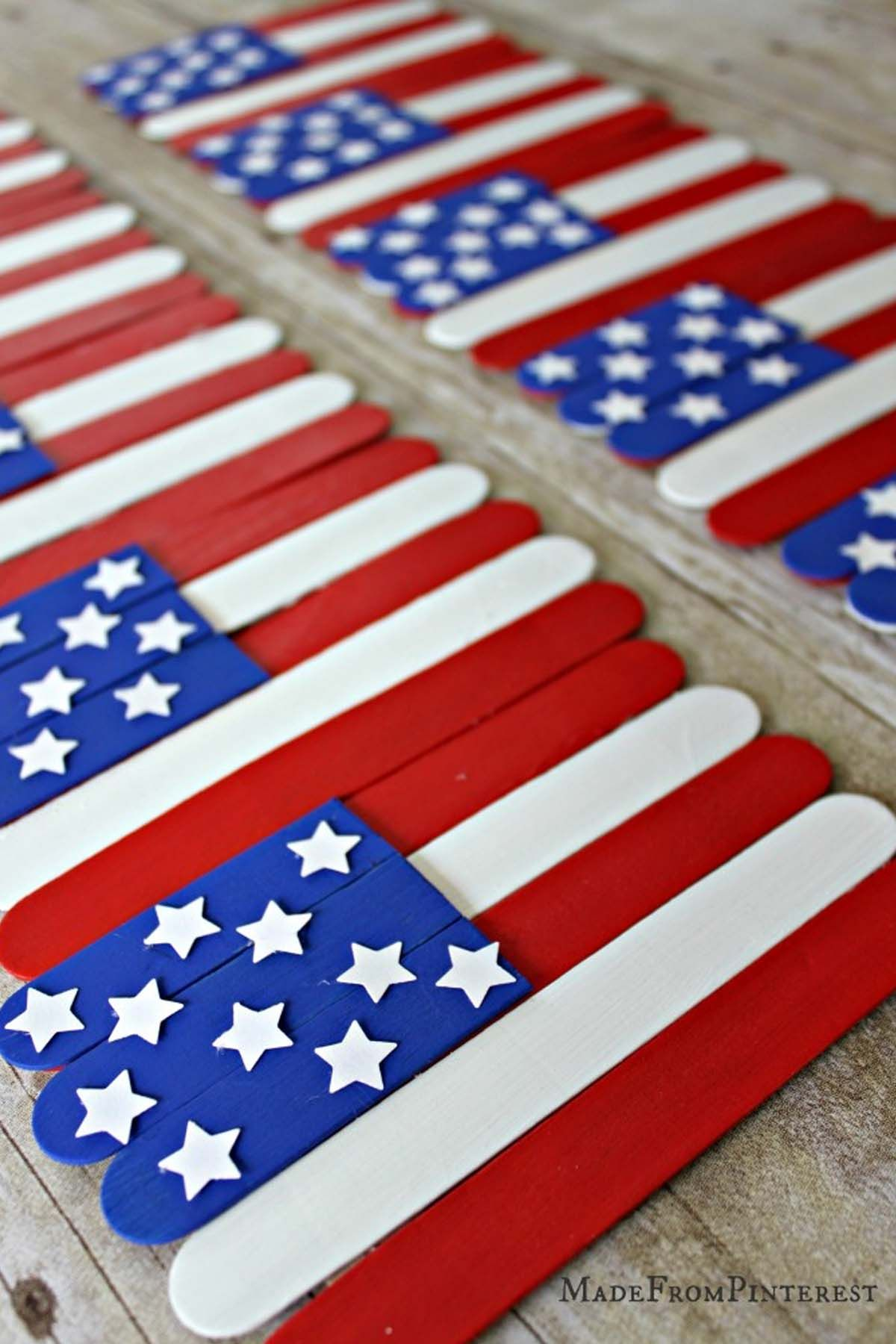 f2c2285d1a2 26 Easy 4th of July Crafts - Patriotic Craft Ideas   DIY Decorations for  Fourth of July