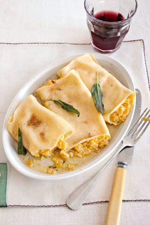 55 easy comfort food recipes best southern comfort food for Pumpkin cannelloni with sage brown butter sauce