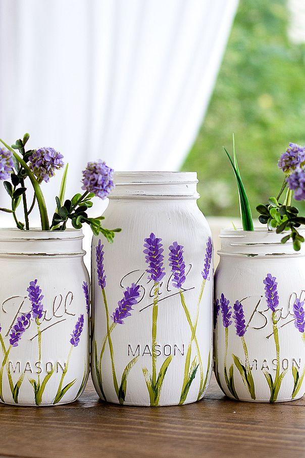 17 Pretty Mason Jar Flower Arrangements Best Floral Centerpieces