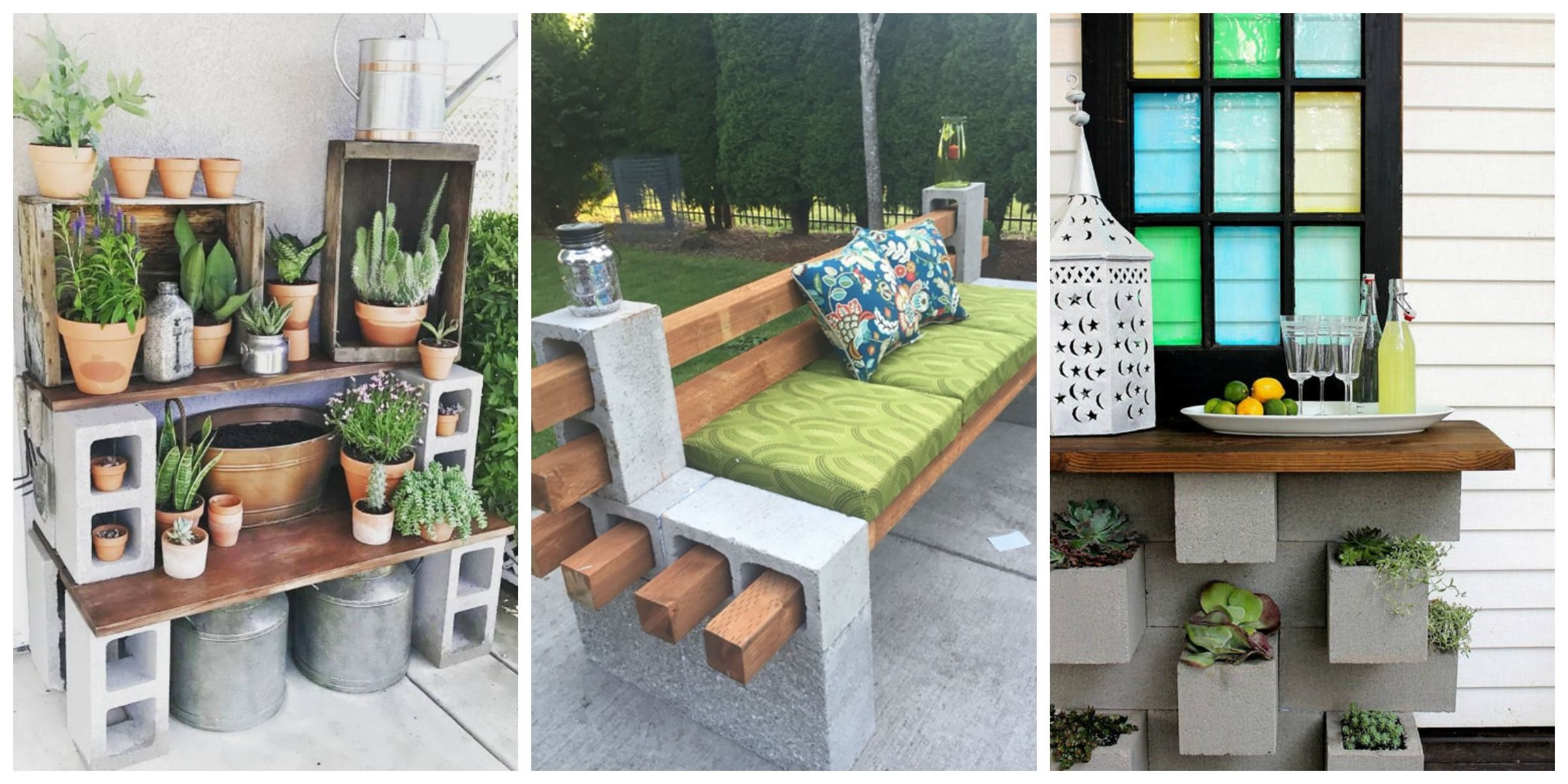 Genius Ways People Are Using Cinder Blocks In Their Backyards How To Use Cinder Blocks In Your Backyard