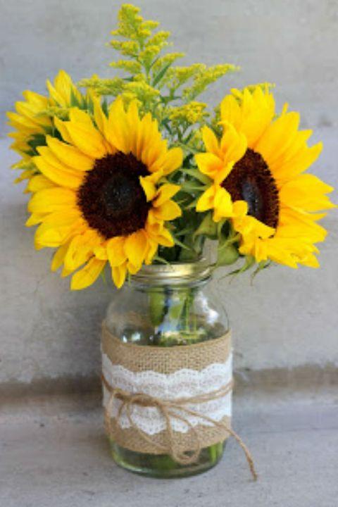 17 Pretty Mason Jar Flower Arrangements Best Floral