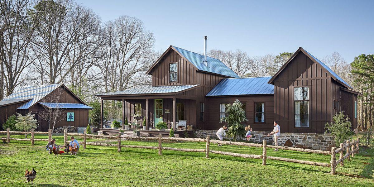 Alabama Farmhouse Southern Farmhouse