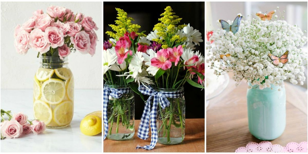 13 pretty mason jar flower arrangements best floral