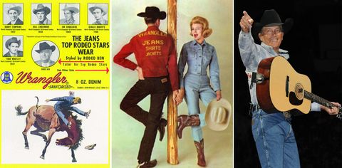 64243943 A Look Back at the 70-Year History of Wrangler Jeans - How Wrangler ...