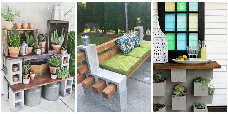 Genius Ways People Are Using Cinder Blocks in Their Backyards ...
