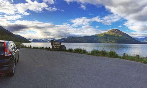 most scenic drive in alaska