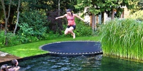 In Ground Trampoline Diy How To Install An