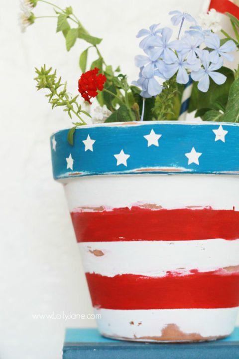 26 Easy 4th Of July Crafts Patriotic Craft Ideas Diy Decorations