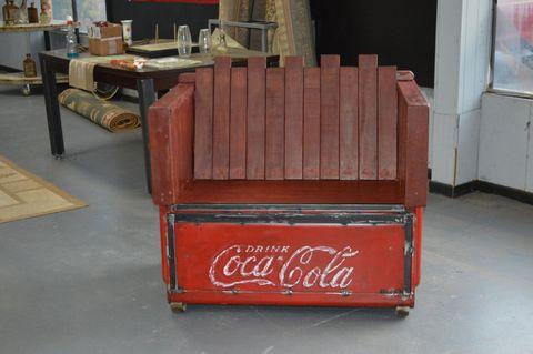 Furniture, Chair, Coca-cola,