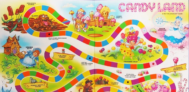 Candy Land Game Mistake - Candy Land Board Game