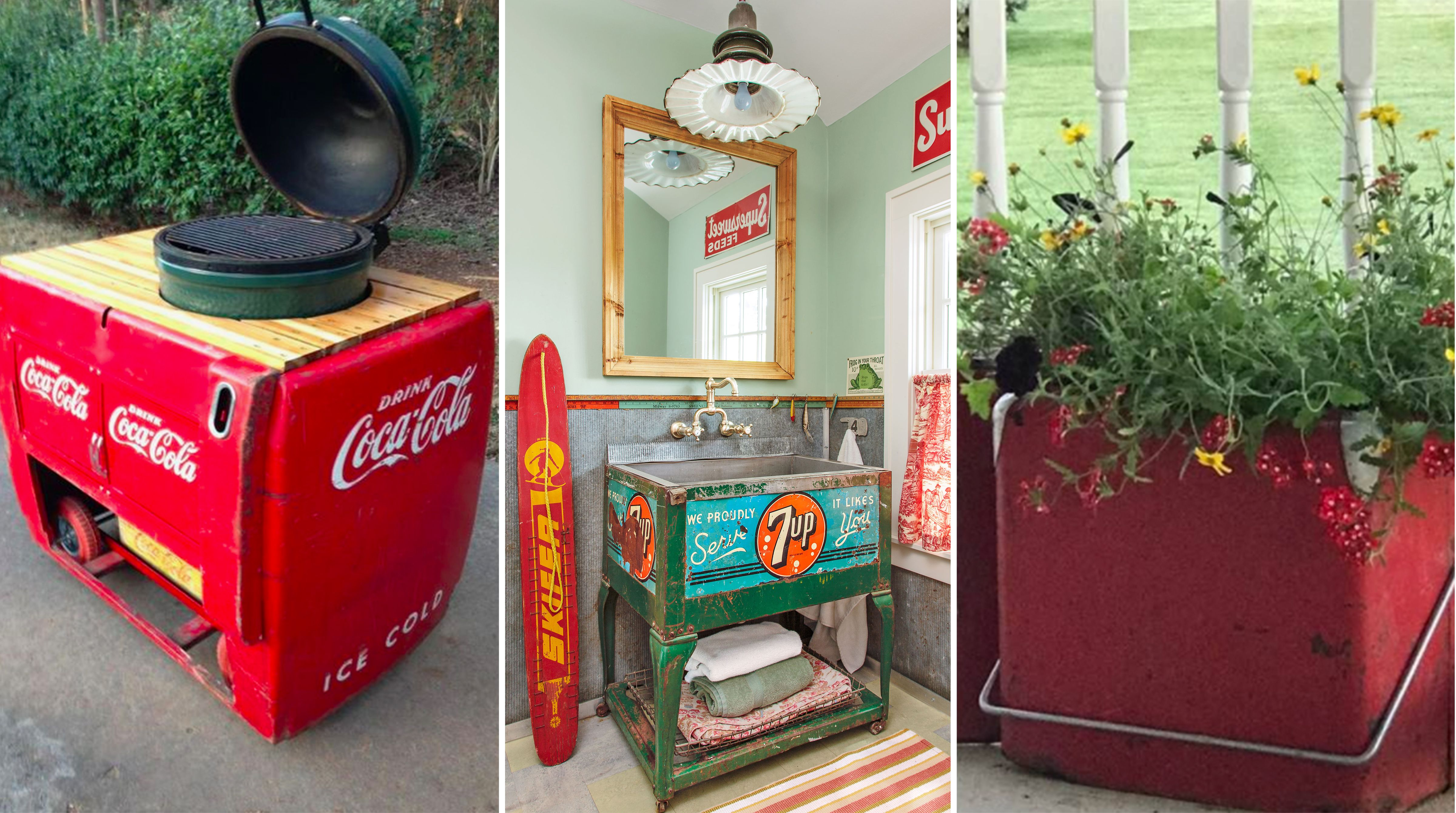 10 Seriously Cool Ideas for Upcycling Vintage Coolers - How to