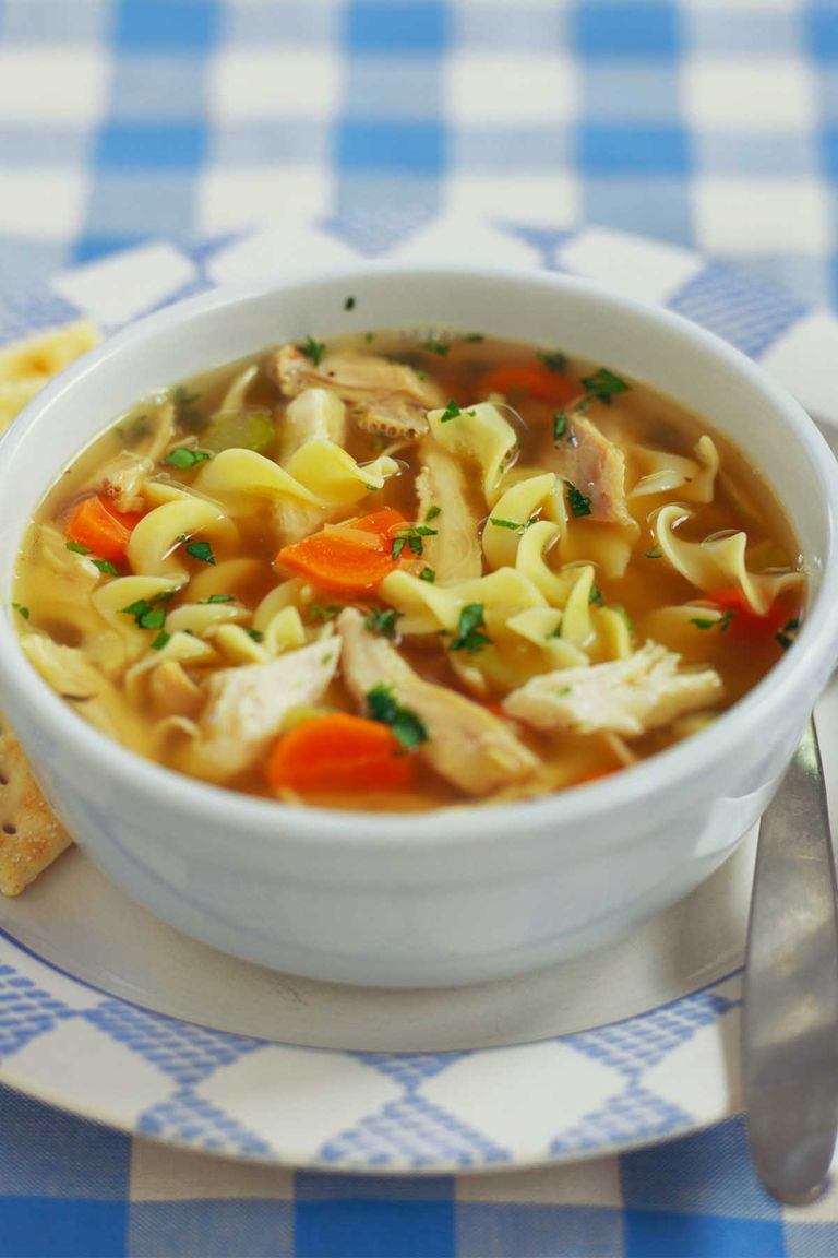 30 best chicken soup recipes how to make easy homemade for How do you make chicken noodle soup