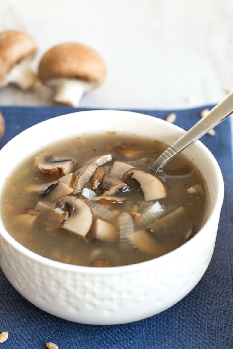 Countryliving Food Drinks G Mushroom Soup Recipes