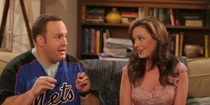 Kevin James and Leah Remini in 'The King of Queens'