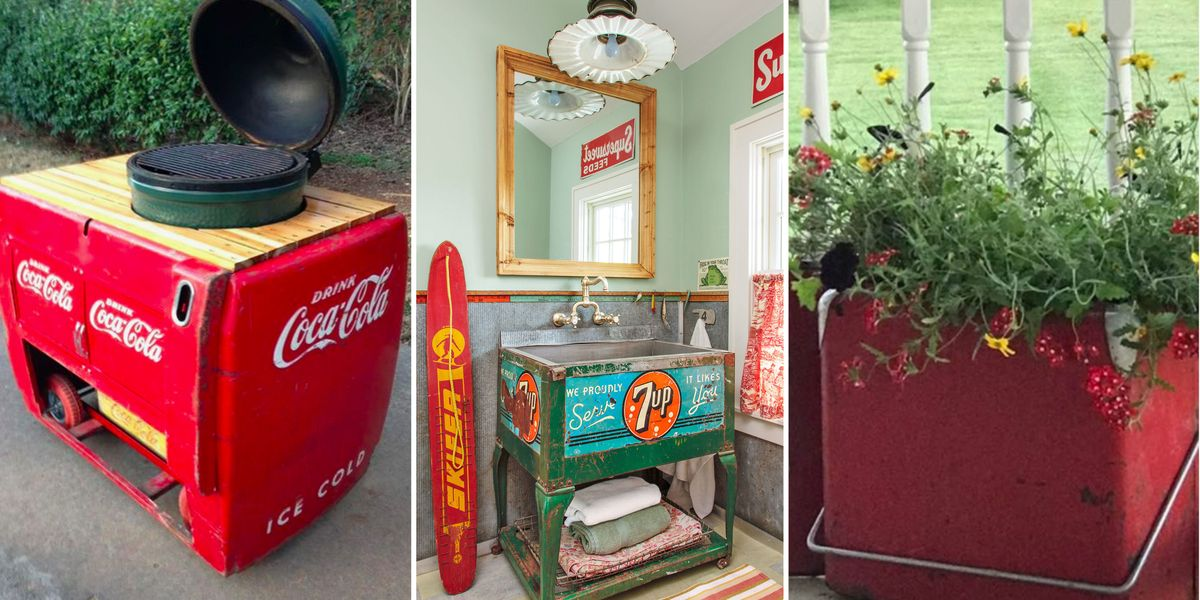The Seriously *Cool* Thing People Are Doing With Vintage Coolers