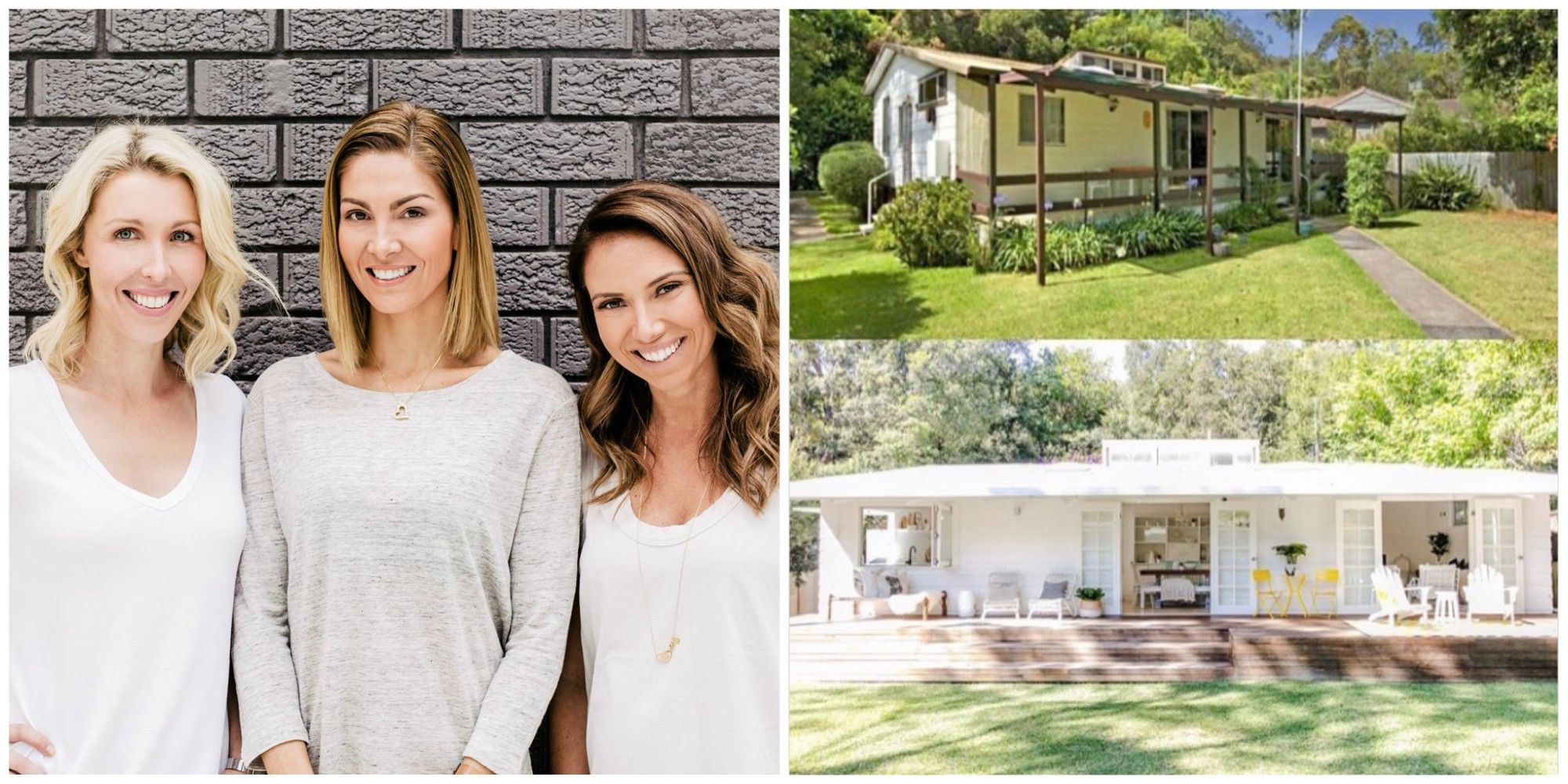 These Three Best Friends Gave Up Their Jobs To Flip Homes Together Fun Facts About Birds Renovation