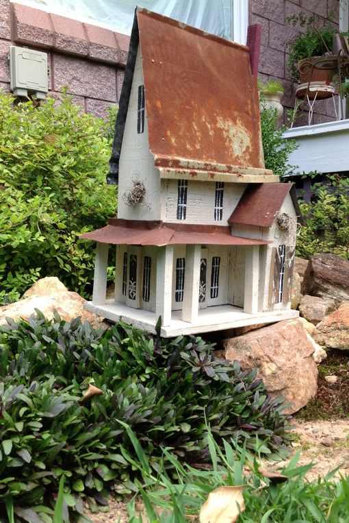 21 Unique Birdhouses Decorative Bird Houses