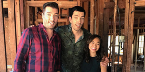 Property Brothers and Linda Phan