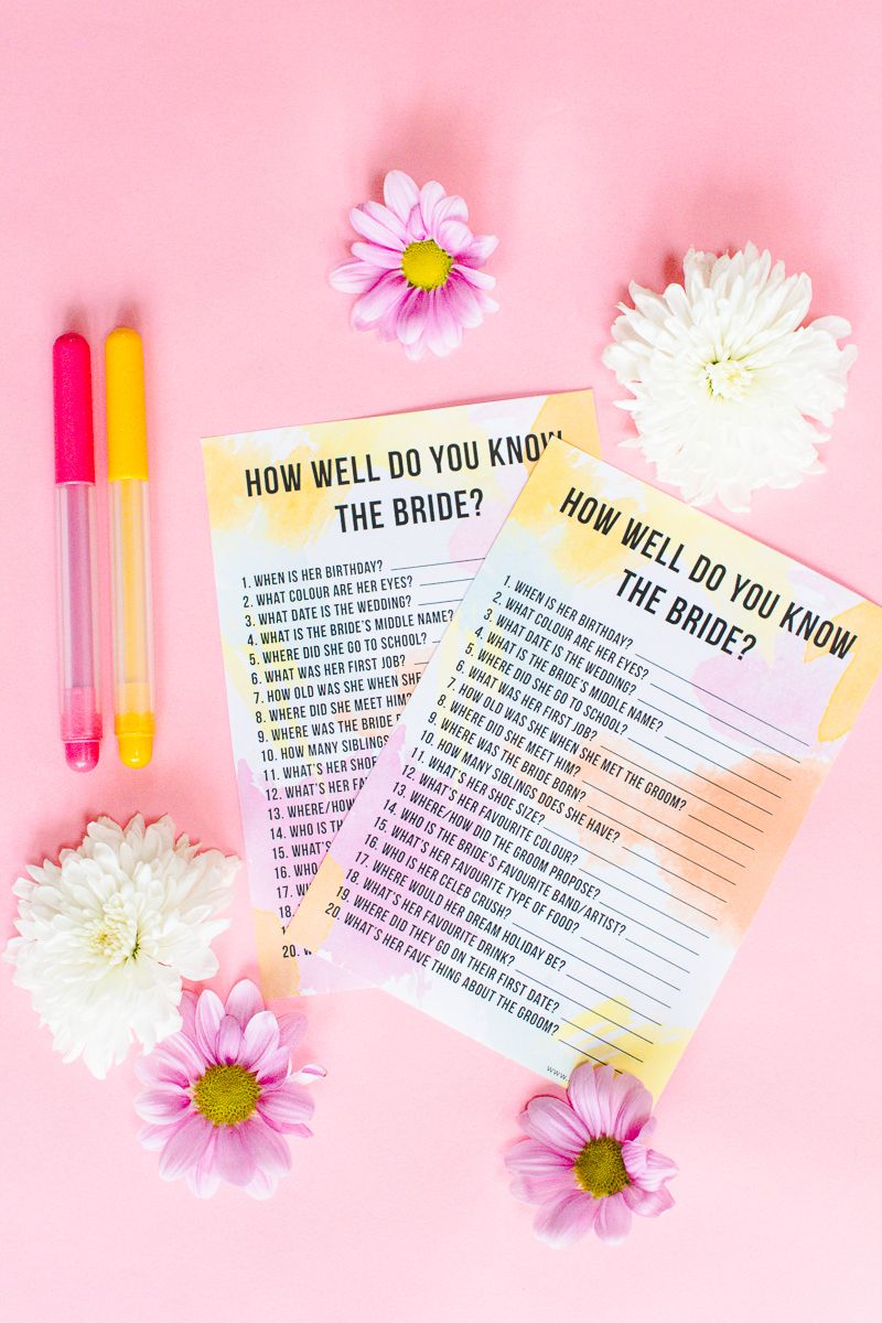 11 unique bridal shower games that arent lame fun ideas for bridal shower activities