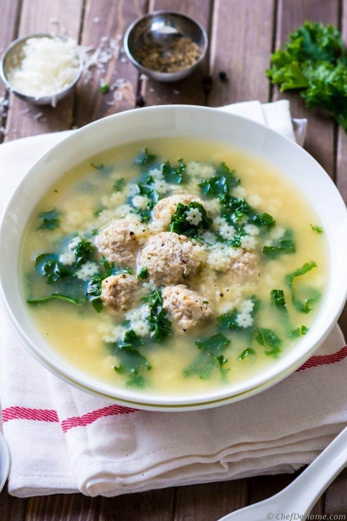 10 Best Italian Wedding Soup Recipes - How to Make Italian Wedding Soup