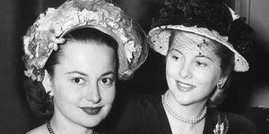 Olivia de Havilland and Joan Fontaine's feud