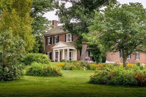 Property, Home, House, Estate, Natural landscape, Real estate, Building, Tree, Cottage, Manor house,