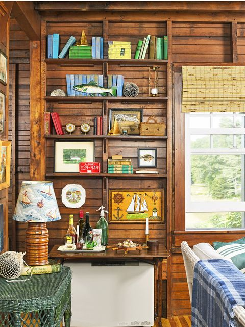 Shelf, Room, Furniture, Green, Shelving, Property, Home, Interior design, Wall, Building,
