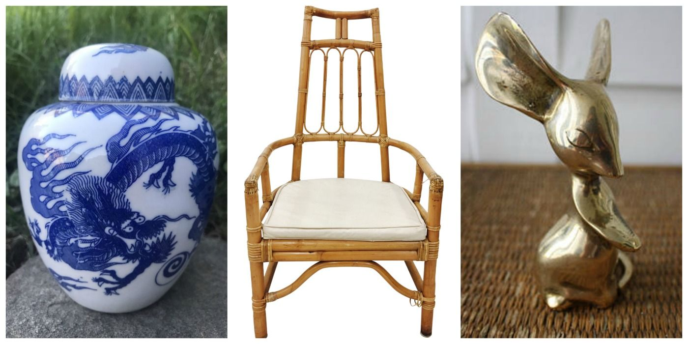 Trendy Decor You Should Never Buy New - Vintage Home Decor That's In Again