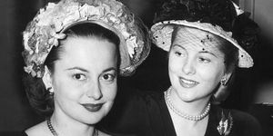 Olivia de Havilland and Joan Fontaine's feud