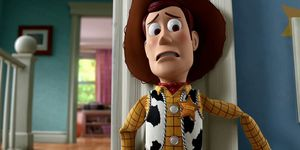Tom Hanks voices Woody in Toy Story 3