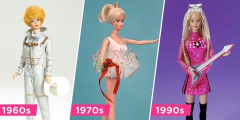 Doll, Barbie, Toy, Pink, Fashion design, Fashion, Dress, Hime cut, Style, Figurine,