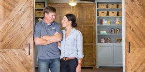 Chip and Joanna Gaines on Fixer Upper